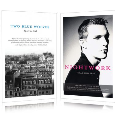 Two Blue Wolves & Nightwork (Special Combined Edition Book) - Sparrow Hall